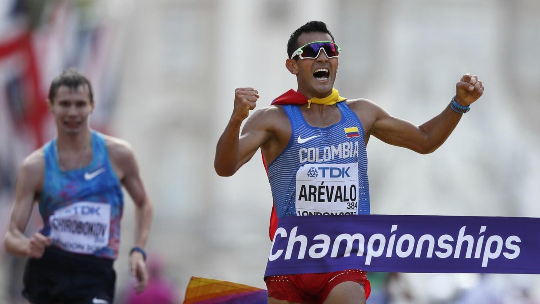 Arévalo catapultó a Colombia a la posición 12 del medallero de Londres 2...