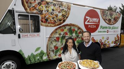¿Pizza hecha por robots?, otra invención de Silicon Valley
