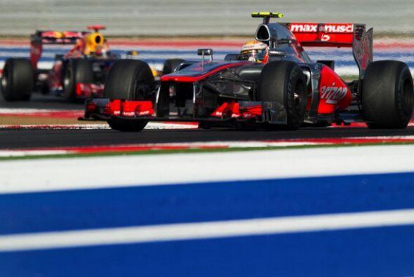 El británico Lewis Hamilton (McLaren) ganó el Gran Premio...
