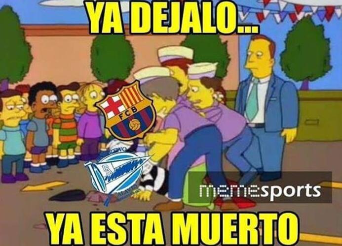Los memes del final de la Copa del Rey acabaron con el Barcelona y hasta...