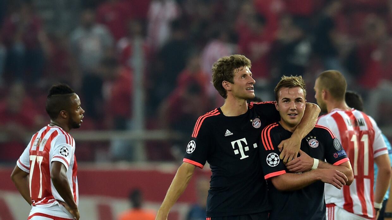 Olympiakos vs. Bayern Munich