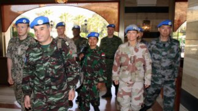 La presencia de observadores de la ONU no ha ayudado al cese de la viole...