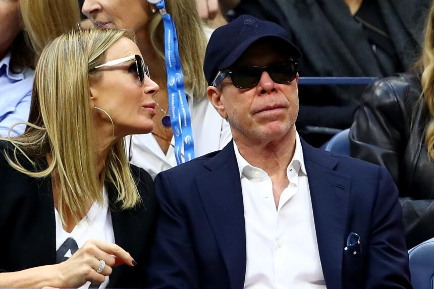 Rafael Nadal: Campeón del US Open Tommy Hilfiger and his wife Dee Oclepp...