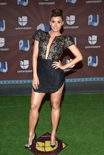 Galilea Montijo, bella y talentosa.