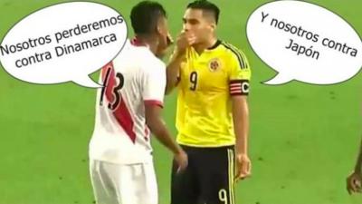 Mientras Perú y Colombia fueron derrotados, los memes en las redes fueron victoriosos