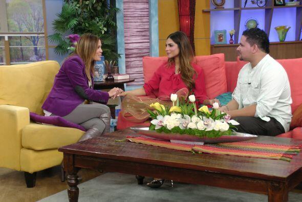 La bella presentadora confesó estar agradecida y emocionada por ver a Ya...