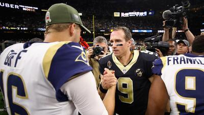 ¿Misión imposible? Rams, por el boleto al SB en la 'fortaleza' de Brees y sus Saints