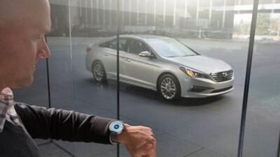 Con Blue Link los usuarios tendrán acceso a muchas funciones del auto de...