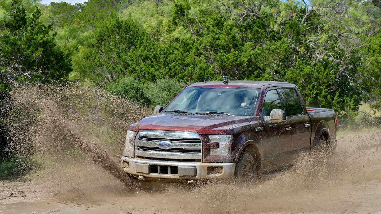 La pickup F-150 es uno de los vehículos emblemáticos de Ford que ofrecer...