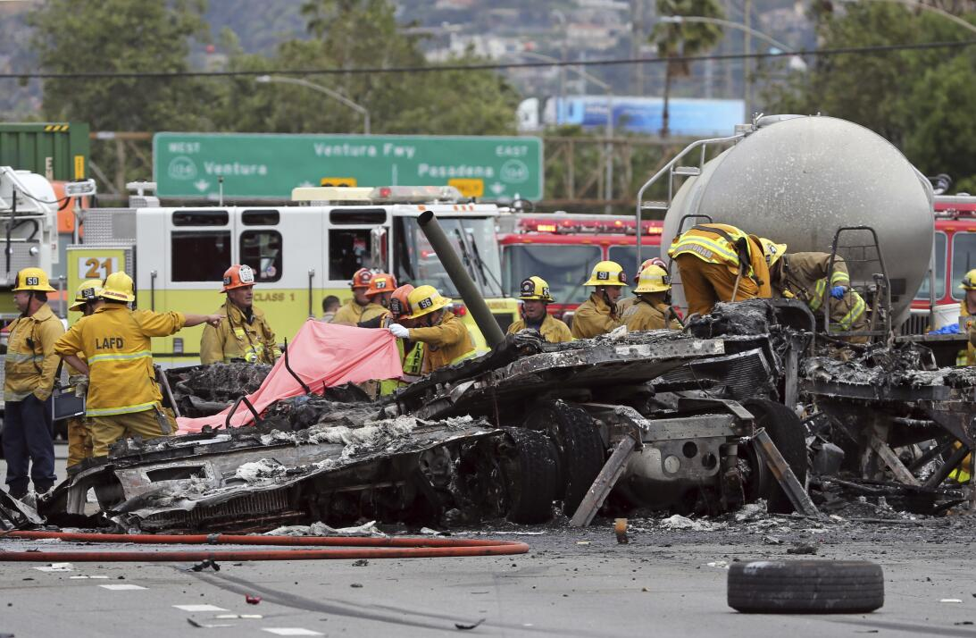 Accidente autopista 5