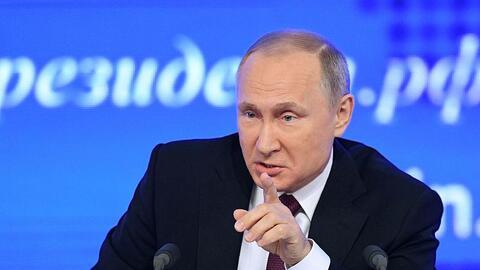 Vladimir Putin condena el bombardeo de Estados Unidos a una base a&eacut...