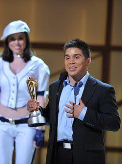 El premio Espíritu Triunfador se lo quedó el taekwondoín Henry Cejudo, m...