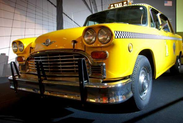 Taxi Cab Checker Model A11 1980 El Checker es el símbolo de los taxis ne...