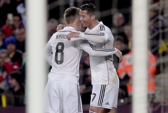 Ronaldo volvía a hacerse presente en el estadio del archirival del Madrid.