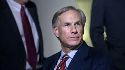 El gobernador de Texas, Greg Abbott.