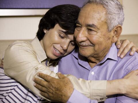 En fotos, la vida de Joao Gabriel Alberto Aguilera junto a su padre Juan...