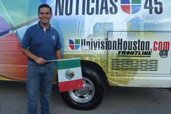 Por supuesto, Univision 45 no podía perderse este gran desfile.