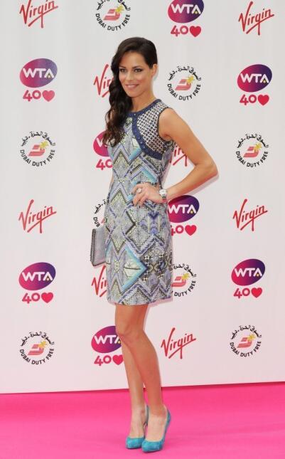 La tenista serbia y novia de Bastian Schweinsteiger, fue considerada por...