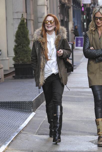 Las nubes negras se alejan de la vida de Lindsay Lohan.Mira aquí los vid...