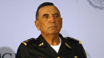 El general Miguel Gonzalez Cruz, a cargo de la Operación Jalisco.