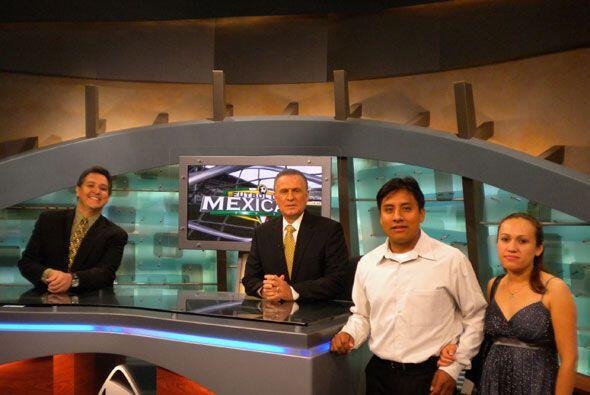 Finalmente Univision le cumplió el sueño de ser analista por un día a nu...