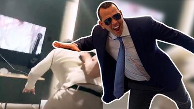 El 'macho bello' de JLo enfrenta sus miedos con realidad virtual (y se lleva un buen susto en el intento)