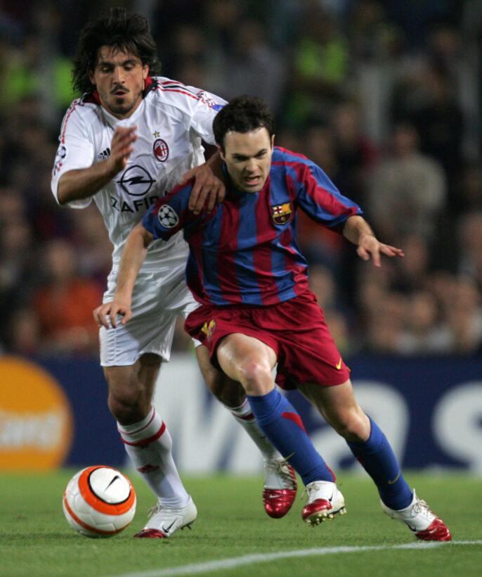 La primera Champions League llegó en el 2006 tras ganar la final al Arse...