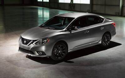 El Nissan Sentra SR Midnight Edition es presentada durante el Auto Show...