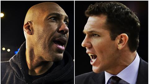 Lavar Ball volvió a hablar mal del entrenador de los Lakers.