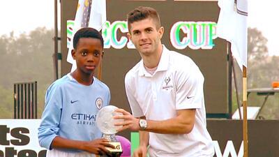 Guardiola ya se frota las manos: así define Justin, goleador de la Prospects Cup y del Manchester City