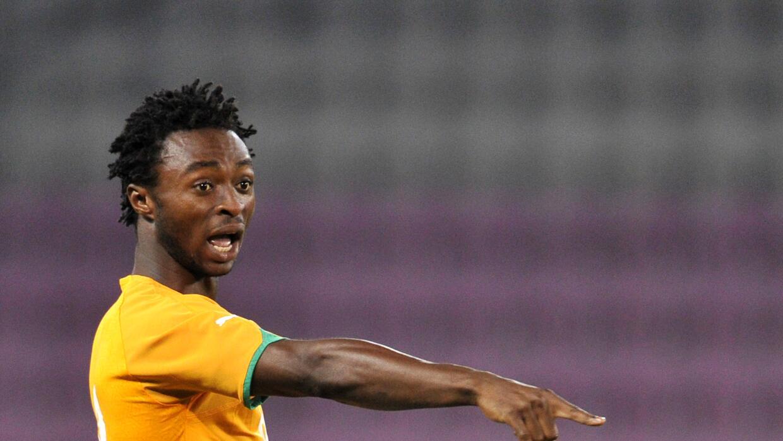 El marfileño Xavier Kouassi se lesionó la rodilla jugando con el FC Sion.