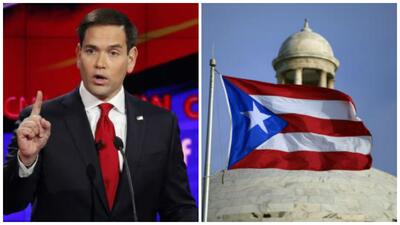 Marco Rubio se expresa sobre Puerto Rico