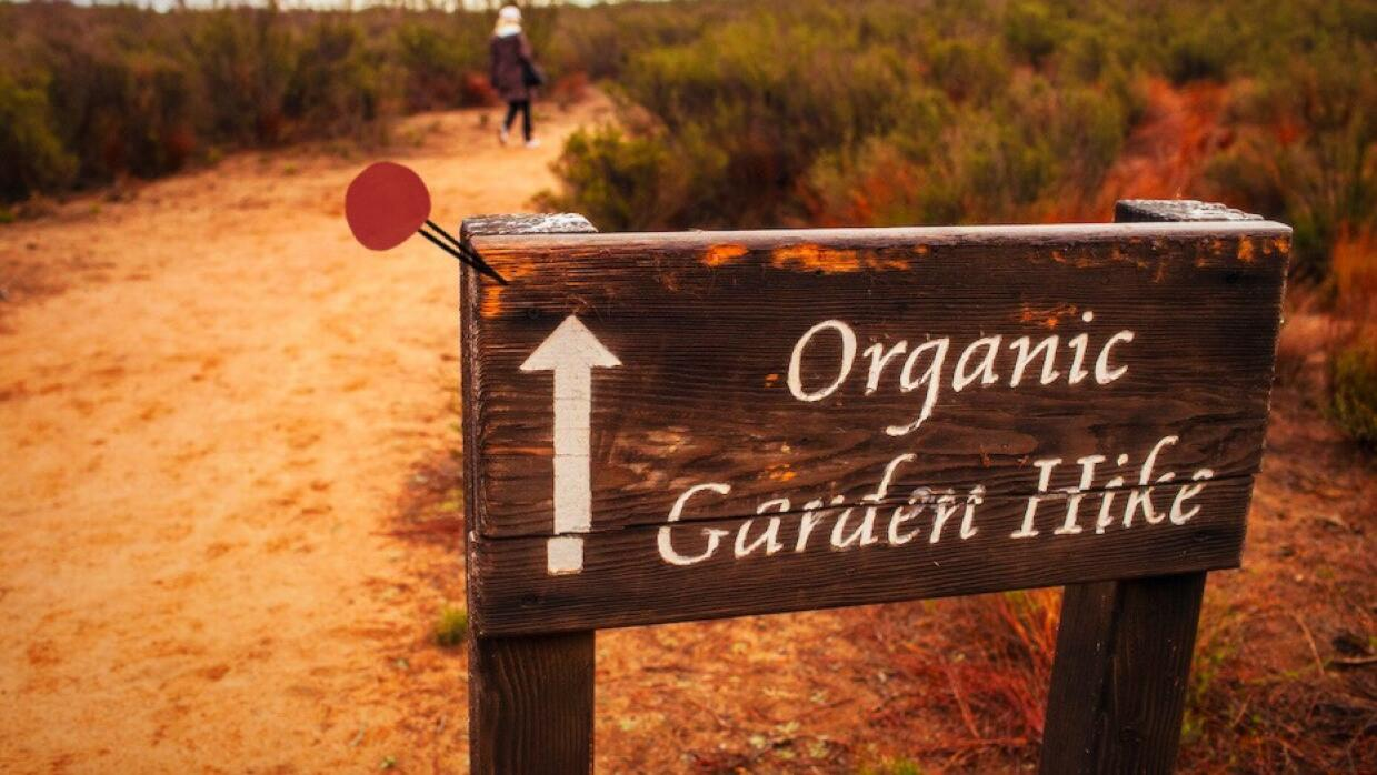 Organic Garden Hike