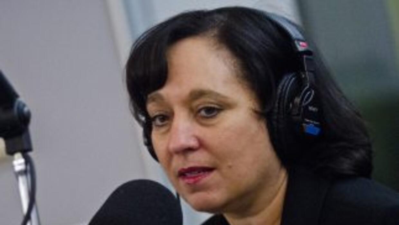 La directora de la Agencia antidrogas estadounidense, Michele Leonhart.