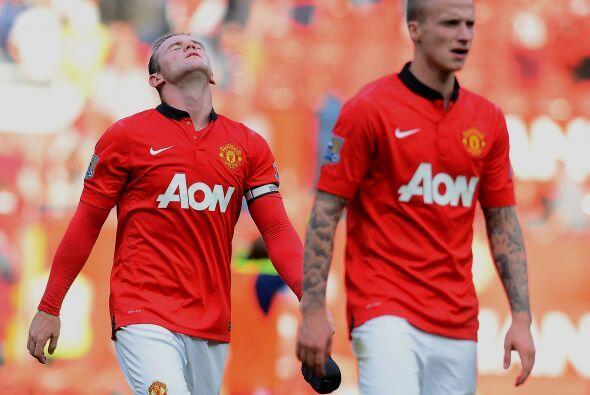 El Manchester United volvió a perder, esta vez en casa ante el West Brom...