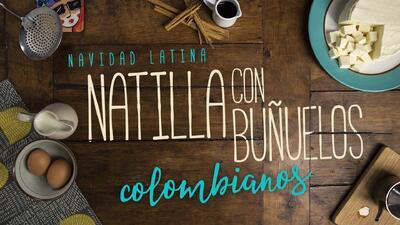 """Natilla con buñuelos - El Recetario """"Navidad Latina"""" #ComoEnCasa"""