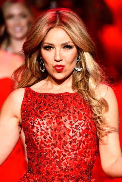 Thalía indudablemente fue una de las más sexys sobre las pasarelas.