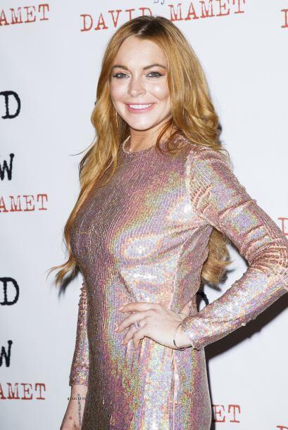 Nooo, está no es la Lindsay de cera, es la real.