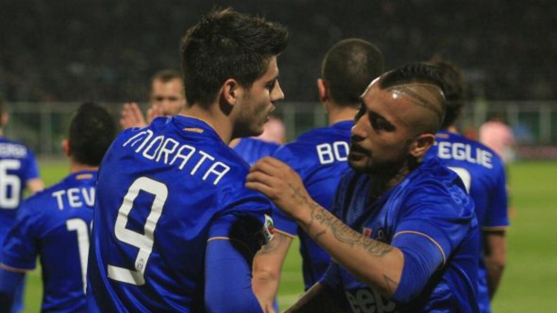 El ariete español le dio el triunfo a la Juventus en casa del Parma.