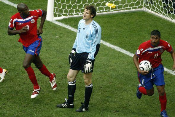 Wanchope le anotó 2 goles al local Alemania en el Mundial 2006. El resul...