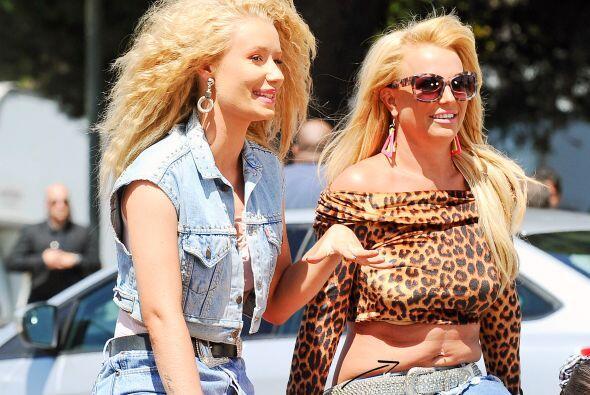 Britney Spears e Iggy Azalea grabaron juntas su nuevo video llamado 'Pre...