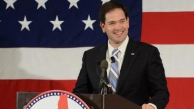 Marco Rubio, precandidato republicano a la presidencia para el 2016.