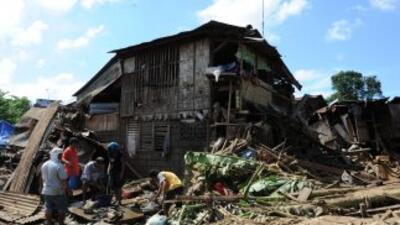 El último balance oficial es de 927 muertos en Filipinas.