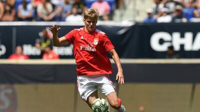 New York City FC adquiere a joya estadounidense del Benfica para cubrir salida de Yangel Herrera