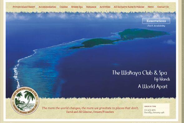 CENTROS TURÍSTICOS/ WAKAYA CLUB- Ubicada en las Islas Fiji, este resort...