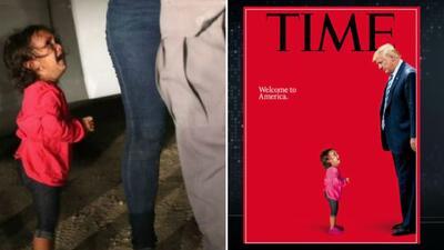 Así se creó la impactante portada de Time en respuesta a la separación familiar