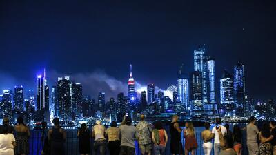 Las mejores fotos del espectáculo de fuegos artificiales del Día de la Independencia en Nueva York