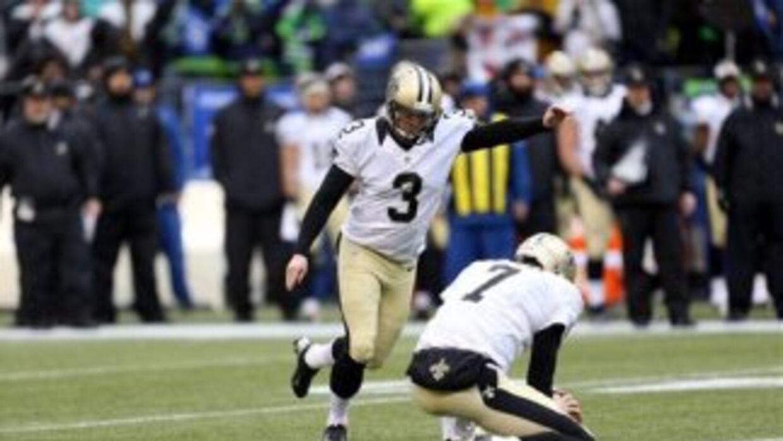 Shayne Graham se quedaría en el puesto de pateador de Saints, equipo al...