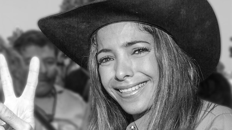 Pilar Montenegro, exGaribaldi que conserva el cariño de su p&uacu...