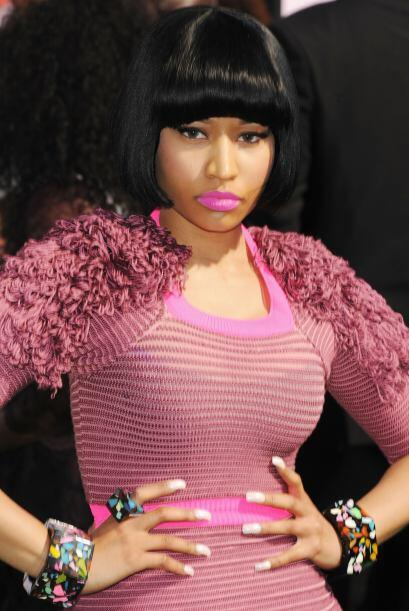 Nicki Minaj no siempre luce hermosa. Su color de piel es oscuro y con lo...